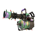 Festive Killstreak Brain Candy Minigun (Field-Tested)