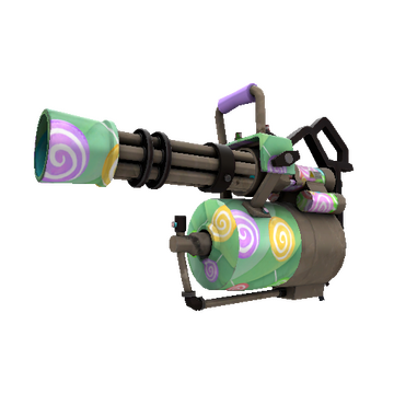 Brain Candy Minigun TF2 Skin Preview
