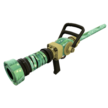 TF2 Skin - Flower Power Medi Gun Skin Preview
