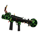 Strange Festive Specialized Killstreak Shell Shocker Rocket Launcher (Factory New)