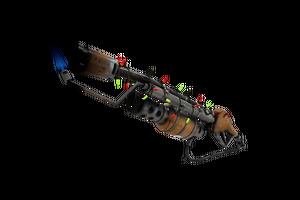 Strange Festivized Specialized Killstreak Turbine Torcher Flame Thrower Well Worn