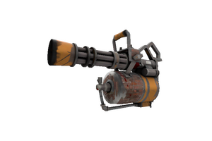 Brick House Minigun Well Worn