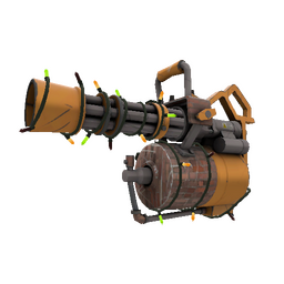 Strange Festivized Specialized Killstreak Brick House Minigun (Minimal Wear)