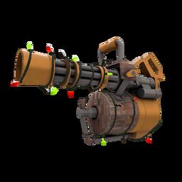 Strange Festivized Killstreak Brick House Minigun (Factory New)