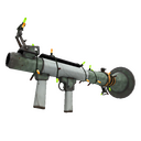 Unusual Festive Professional Killstreak Aqua Marine Rocket Launcher (Field-Tested)