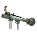 Unusual Festive Specialized Killstreak Aqua Marine Rocket Launcher (Factory New)