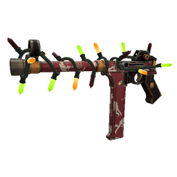 Unusual Festivized Specialized Killstreak Low Profile SMG (Field-Tested)