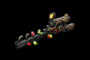 Festivized Professional Killstreak Thunderbolt Sniper Rifle Well Worn