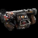 Unusual Professional Killstreak Carpet Bomber Stickybomb Launcher (Well-Worn)