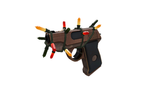 Strange Festivized Professional Killstreak Local Hero Pistol Factory New