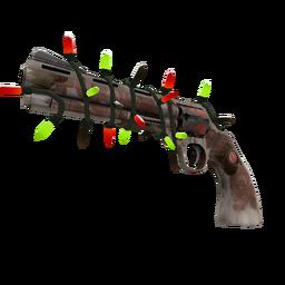 Festivized Killstreak Mayor Revolver (Battle Scarred)