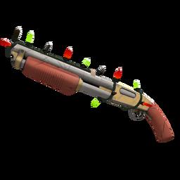 Strange Festivized Specialized Killstreak Civic Duty Shotgun (Minimal Wear)