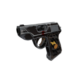 Strange Specialized Killstreak Black Dahlia Pistol (Well-Worn)