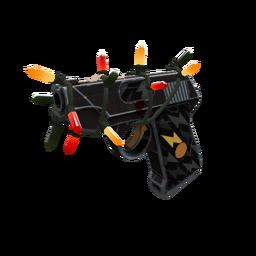 Strange Festivized Professional Killstreak Black Dahlia Pistol (Field-Tested)
