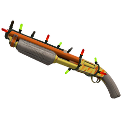 Strange Festivized Professional Killstreak Lightning Rod Shotgun (Minimal Wear)