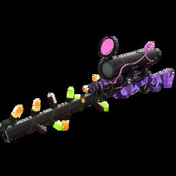 Strange Festivized Specialized Killstreak Purple Range Sniper Rifle (Minimal Wear)