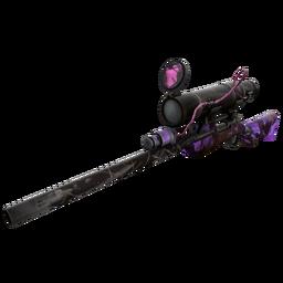 free tf2 item Specialized Killstreak Purple Range Sniper Rifle (Battle Scarred)