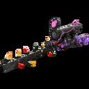 Strange Festive Professional Killstreak Purple Range Sniper Rifle (Well-Worn)