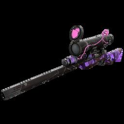 Specialized Killstreak Purple Range Sniper Rifle (Well-Worn)