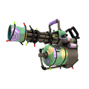 Unusual Festive Specialized Killstreak Brain Candy Minigun (Factory New)