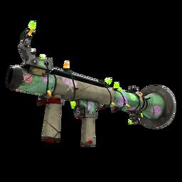 Festivized Brain Candy Rocket Launcher (Battle Scarred)