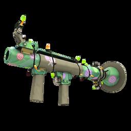 Strange Festive Professional Killstreak Brain Candy Rocket Launcher (Factory New)