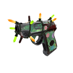 Festivized Brain Candy Pistol (Battle Scarred)