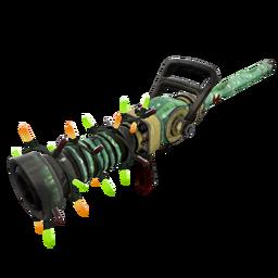 Unusual Festive Specialized Killstreak Flower Power Medi Gun (Well-Worn)