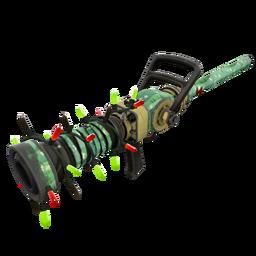 Strange Festive Specialized Killstreak Flower Power Medi Gun (Field-Tested)