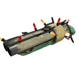 Strange Festivized Specialized Killstreak Flower Power Scattergun (Well-Worn)