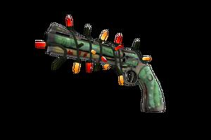 Strange Festivized Flower Power Revolver Battle Scarred