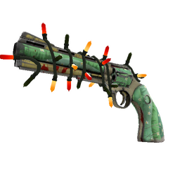 Strange Festivized Killstreak Flower Power Revolver (Well-Worn)