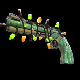 Festivized Killstreak Flower Power Revolver (Minimal Wear)