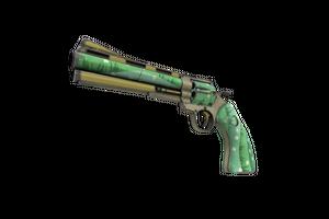 Unusual Professional Killstreak Flower Power Revolver Minimal Wear