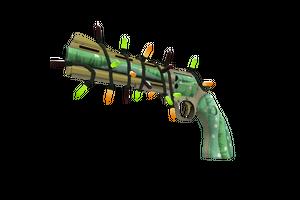 Strange Festivized Professional Killstreak Flower Power Revolver Factory New