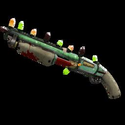 Strange Festive Flower Power Shotgun (Well-Worn)