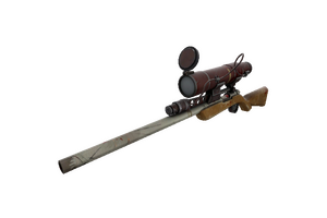 Coffin Nail Sniper Rifle Well Worn