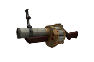 Coffin Nail Grenade Launcher Well Worn