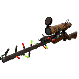 Festivized Dressed to Kill Sniper Rifle (Field-Tested)
