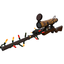 Strange Festivized Specialized Killstreak Dressed to Kill Sniper Rifle (Minimal Wear)