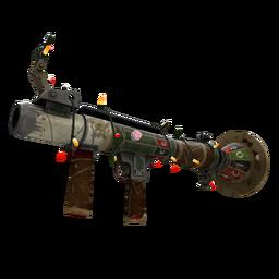 Festivized High Roller's Rocket Launcher (Battle Scarred)