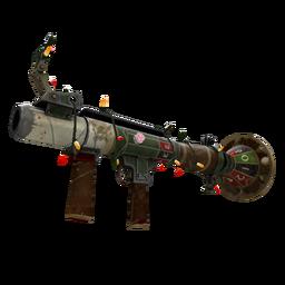 Festivized Killstreak High Roller's Rocket Launcher (Well-Worn)