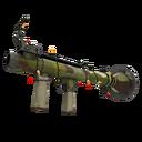 Unusual Festive Killstreak Woodland Warrior Rocket Launcher (Field-Tested)