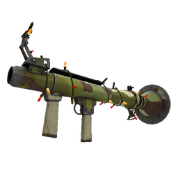 Unusual Festive Killstreak Woodland Warrior Rocket Launcher (Field-Tested)