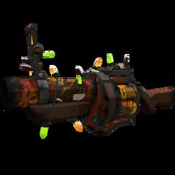 Festivized Autumn Grenade Launcher (Battle Scarred)