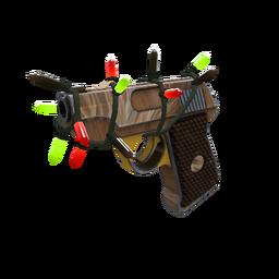 Strange Festivized Nutcracker Pistol (Minimal Wear)