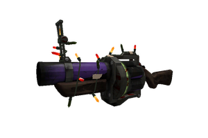 Festivized Specialized Killstreak Macabre Web Grenade Launcher Battle Scarred
