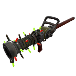 Strange Festivized Wildwood Medi Gun (Well-Worn)