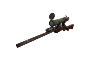 Wildwood Sniper Rifle Battle Scarred