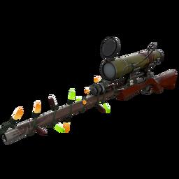 Strange Festivized Specialized Killstreak Wildwood Sniper Rifle (Field-Tested)
